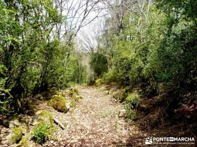 Montfalcó,Mont-rebei-Noguera Ribagorzana-Semana Santa; segobriga viriato embalses de madrid